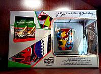 Подарочный набор Кофе Najjar (2шт Х 200 гр) с кардамоном молотый  + чашка с блюдцем