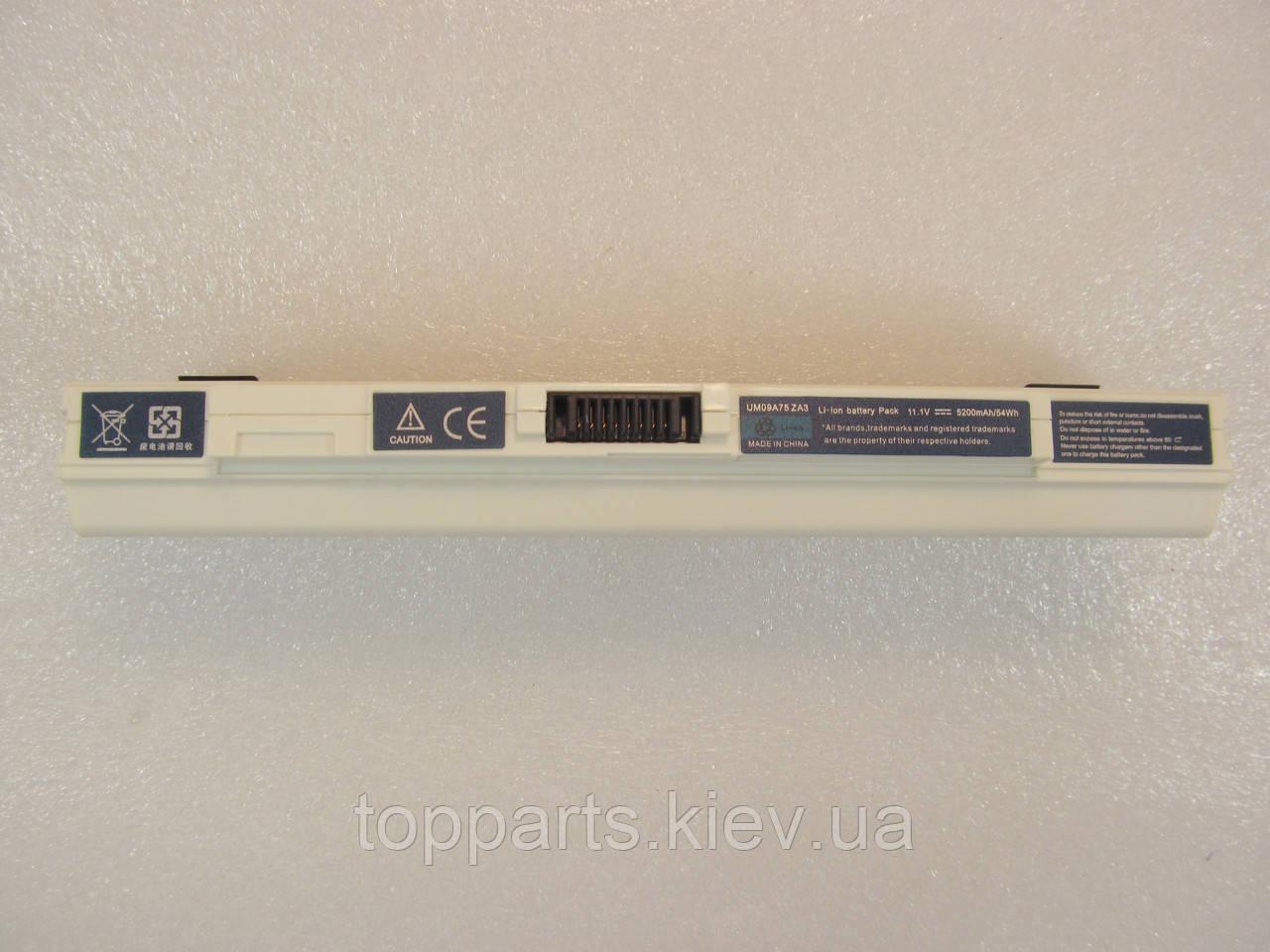Acer UM09B31, 5200mAh, 6cell, 11.1V, Li-ion, белая, УЦЕНКА