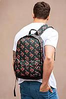 Городской рюкзак с внешним карманом на молнии