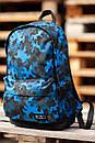 Городской рюкзак в камуфляж с внешним карманом на молнии, фото 3