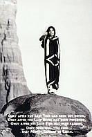Постер Индейское пророчество, 40.6х50.8 см
