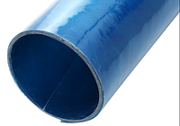 Шифер ПВХ Волнопласт плоский 2*30 м. голубой Volnoplast