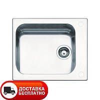 Кухонная мойка Apell Torino TO58IBC brushed 58*50
