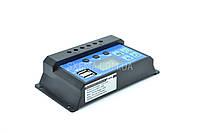 Контроллер для солнечных панелей KW1230 12В/24В (10 ампер)