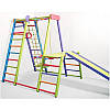 Игровой раскладной спортивный уголок детям Слоник (цветной)