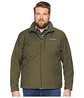 Флисовая куртка Columbia Big & Tall Ascender Softshell Jacket Green - Оригинал