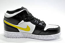 Кроссовки унисекс в стиле Nike Air Jordan 1 High Retro, White\Black, фото 3