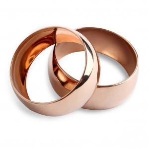 Обручальное кольцо Золотой путь 11910