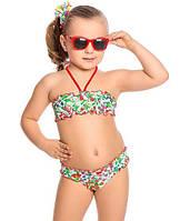 Детский купальник для девочки Пляжная одежда для девочек Одежда для девочек 0-2 Arina Италия GB131703 Белый