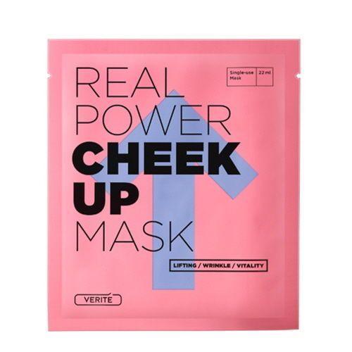 Тканевая маска с лифтинг-эффектом Verite Real Power Cheek Up Mask