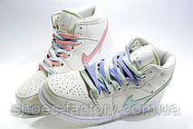 Женские Кроссовки в стиле Nike Air Jordan 1 High Retro, beige color, фото 2