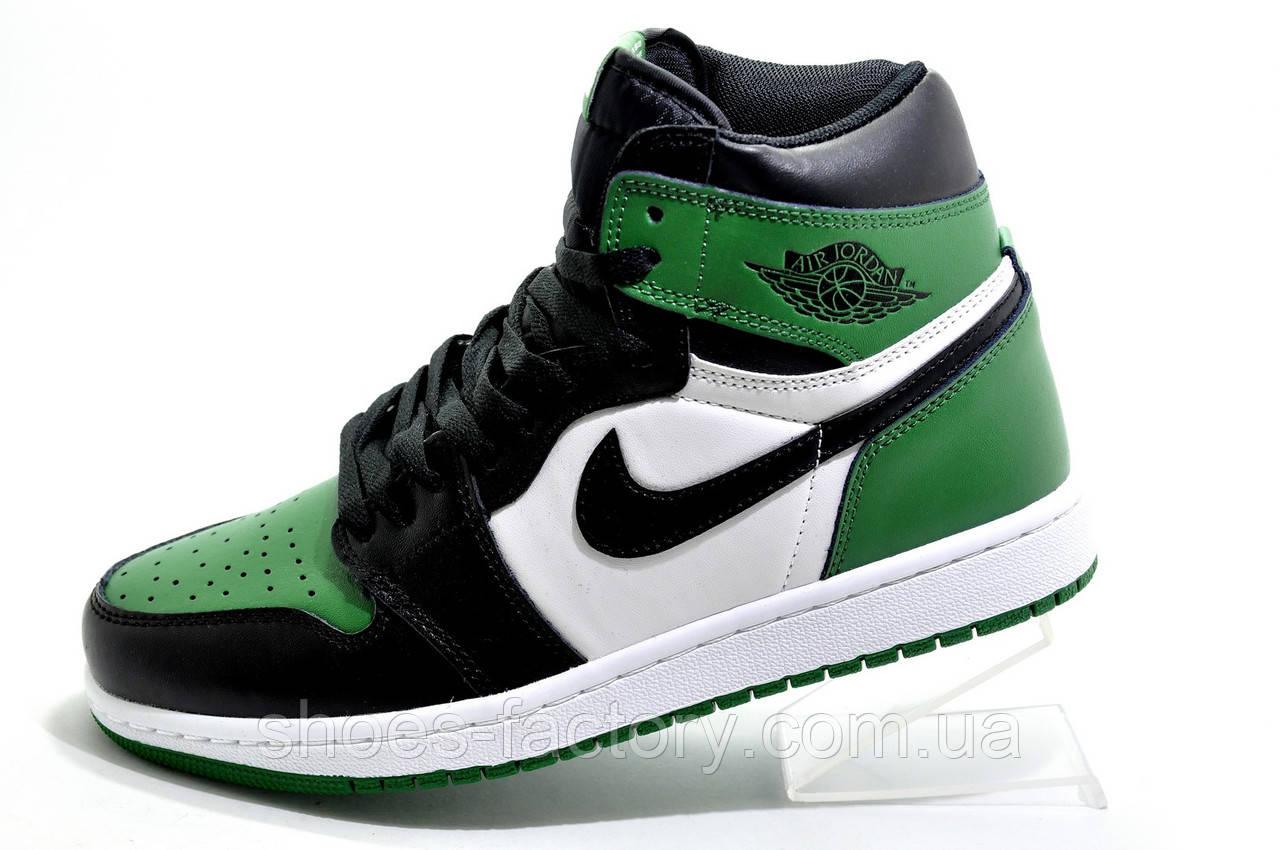 Мужские Кроссовки в стиле Nike Air Jordan 1 High Retro, Green