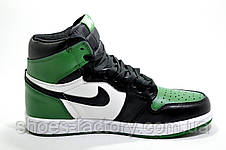 Мужские Кроссовки в стиле Nike Air Jordan 1 High Retro, Green, фото 2