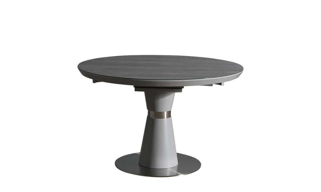 Раздвижной стол Феникс 120/160 серая керамика от Prestol
