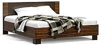 Кровать двухспальная Вероника Мебель Сервис 140х200