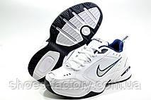 Белые мужские кроссовки в стиле Nike Air Monarch IV, White, фото 3