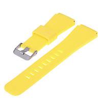 Силиконовый ремешок для часов Huawei Watch GT / GT Active 46mm - Yellow, фото 1