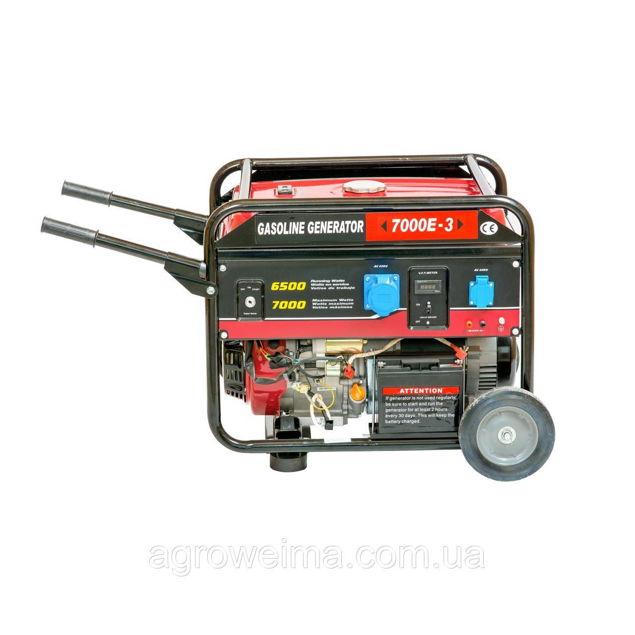Генератор бензиновый WM7000E (3 ВАЗ.)