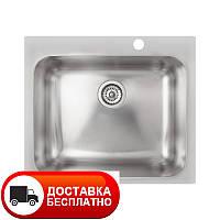 Кухонная мойка Apell Torino TOG571IBC brushed 57*51