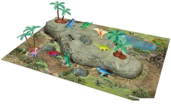 Игровой набор Эпоха динозавров Dino Age Experience Geoworld