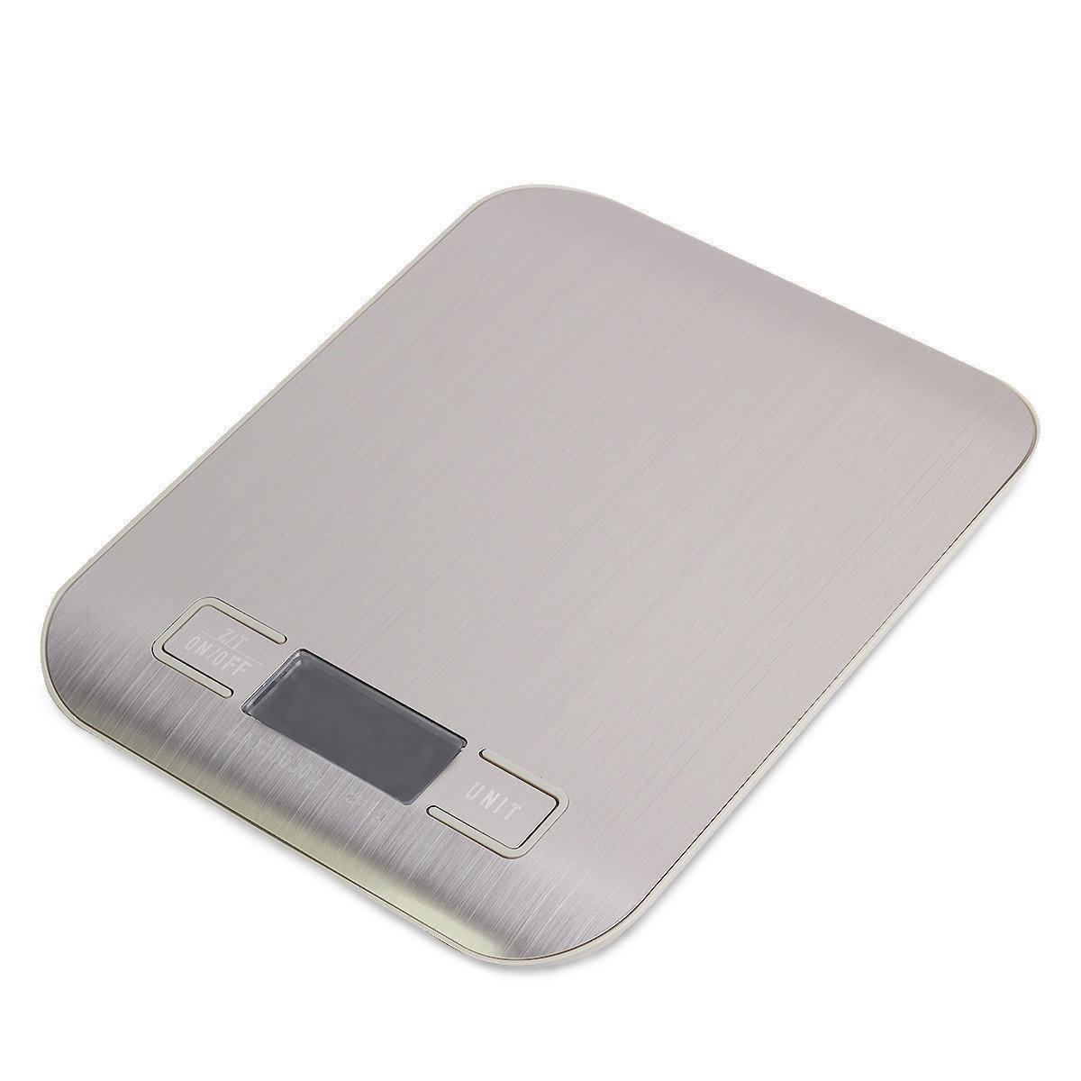 Весы электронные кухонные Kamille 19*15*2,5 см металлические настольные
