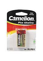 Батарейка 6LR61 9V Camelion 4,5х2,5см Золотой, Красный