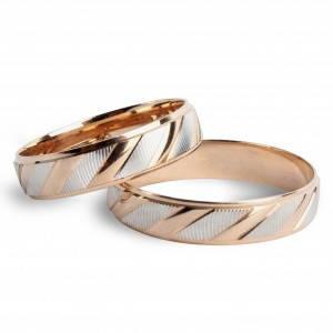 Обручальное кольцо Линия любви 10655