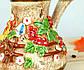 Турка Диканька цветная керамическая 500 мл, фото 3