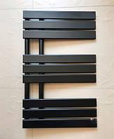 Черный матовый полотенцесушитель  ANTIBES 9/820S 820*500
