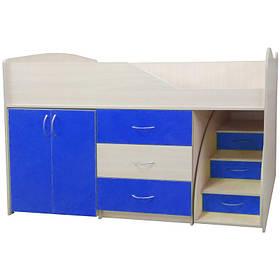 """Ліжко-кімната """"Бід-Рум 5"""" синя"""