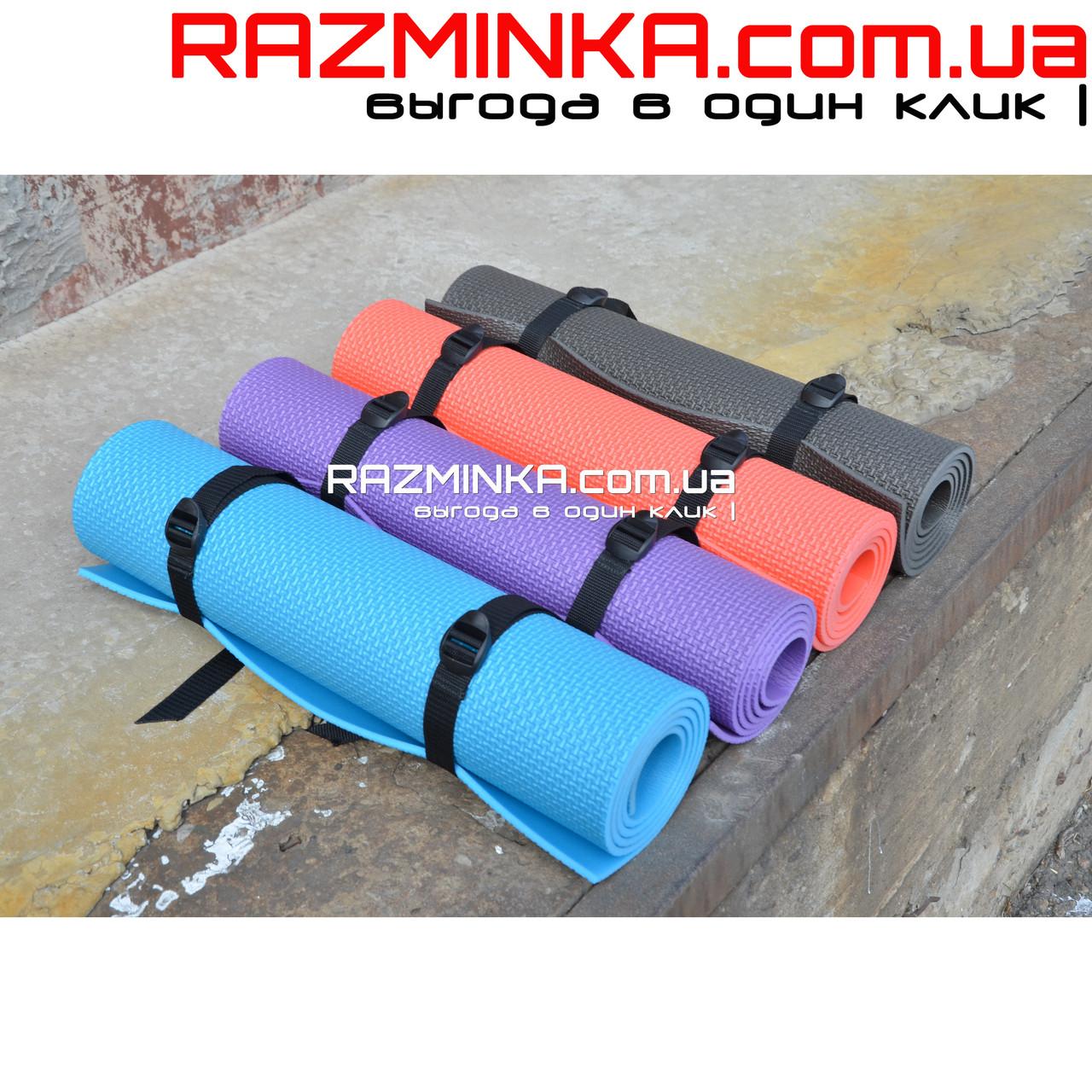 Компактный коврик для йоги 1400х500х5мм