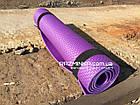 Компактный коврик для йоги 1400х500х5мм, фото 3