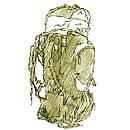 Мужские туристические рюкзаки