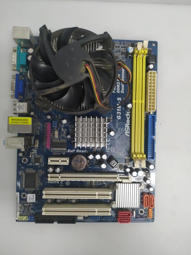 Материнская плата ASRock G31M-S R2.0 (Socket 775, MicroATX, Intel G31, 2 x DDR2)