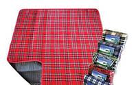 Коврик одеяло покрывало для пляжа и пикника Водонепроницаемый 3 цвета 150*200 см, пляжный коврик