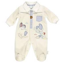 Детский человечек для мальчика BRUMS Италия 133BBFV014 Молочный