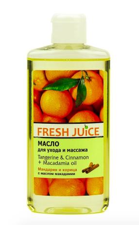 Олія для догляду та масажу тіла Tangerine&Cimamon+ oil 150млFJ