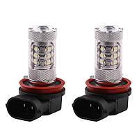 LED авто лампи HB4(9006) 6000K 80W 12V, фото 1