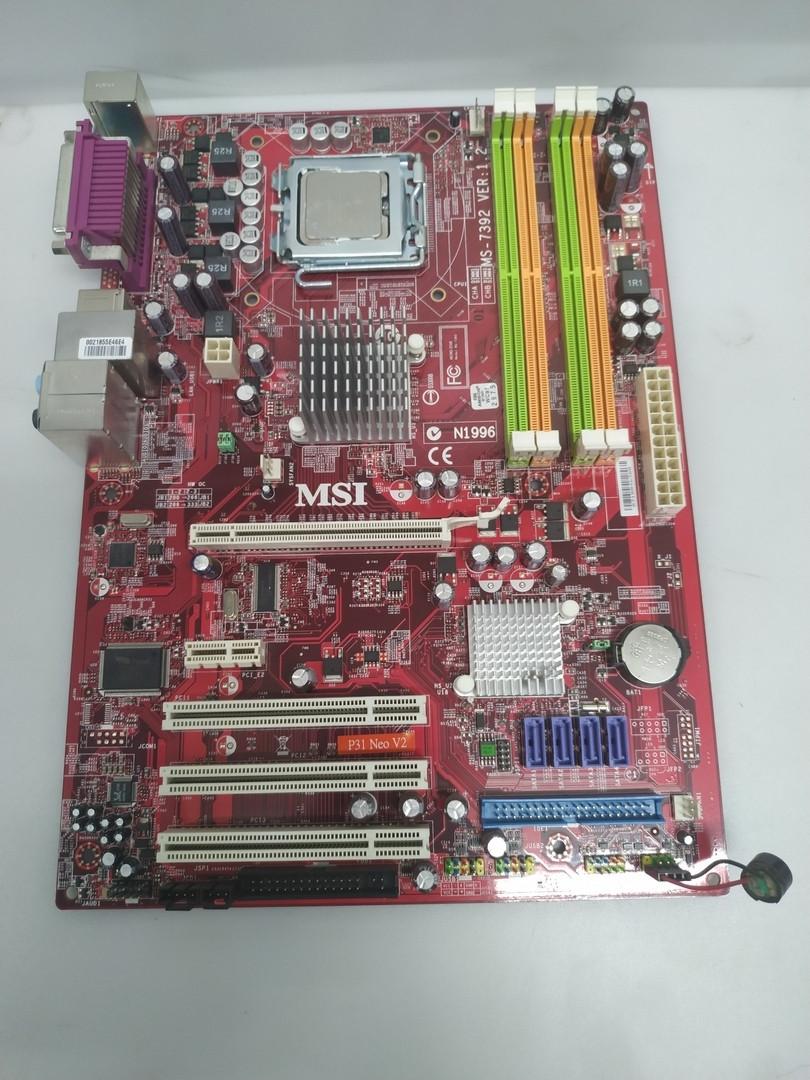 Материнська плата MSI P31 NEO (Intel P31/ICH7, Core2Quad, 4*DDR2)