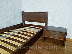 """Кровать детская """"Эконом"""" (80х190/200) лесной орех, фото 2"""