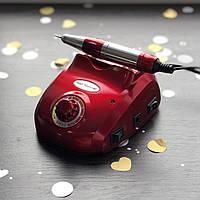 Аппарат для маникюра Nail Master ZS-603 (45 Вт, 35000 оборотов) красный