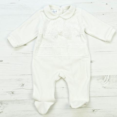 Чоловічок для дівчинки Одяг для дівчаток 0-2 iDO Італія 4 N569 00 / S молочний