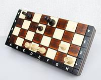 Шахматы дорожные С 140 Магнитные из натурального дерева
