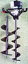 Мотобур Iron Angel MD 3353 PROFI + 2 бура, фото 2
