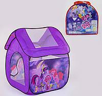 """Палатка детская для девочки 8009PN """"My Little Pony"""", размер 114*102*112 см"""