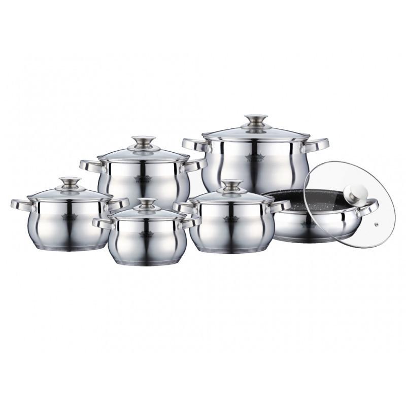 Набір посуду 12 предметів Товарpeterhoff PH 15773