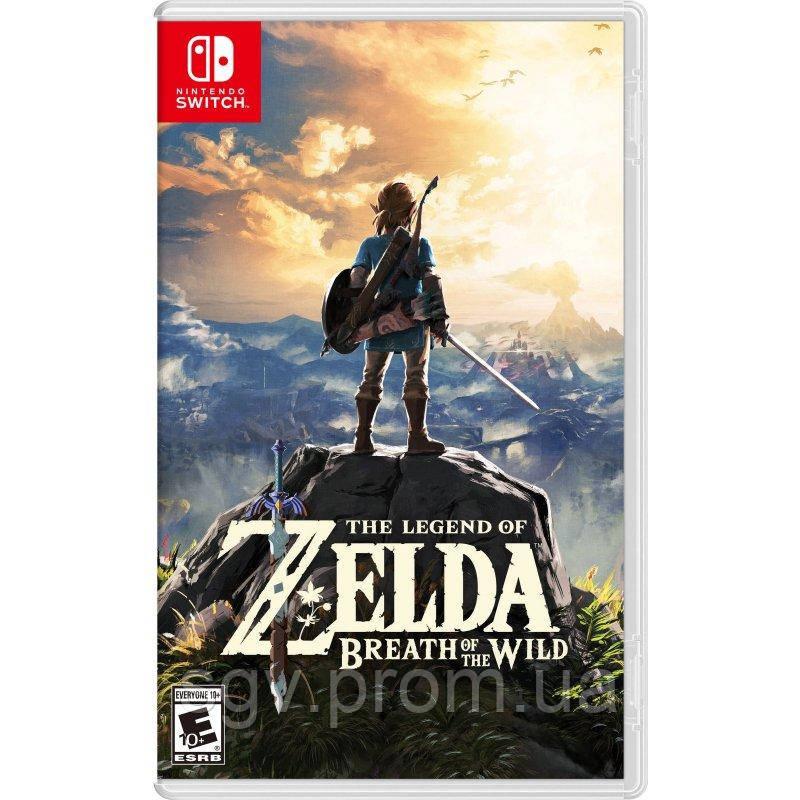 The Legend of Zelda: Breath of the Wild. Explorer's Edition для Nintendo Switch (русская версия)