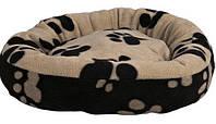 Лежак для собак и котов Trixie флис (диам50см)