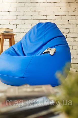 Бескаркасное кресло-груша Oxford (брезент), фото 2