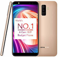 Leagoo M9 смартфон 2/16GB gold ,8MP 5.5'', + подарок